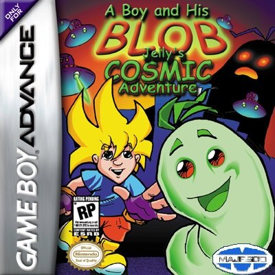 A Boy and His Blob GBA cover