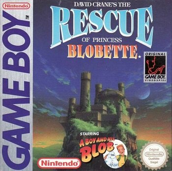 A Boy and His Blob Game Boy cover