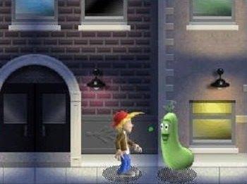 A Boy and His Blob DS screenshot