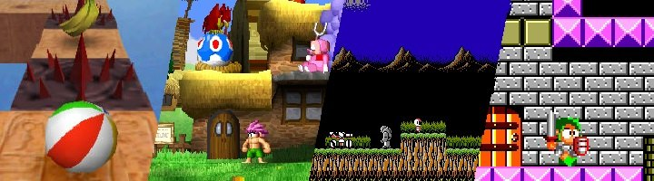 Kula World, Tombi!, Blaster Master y Wonder Boy III