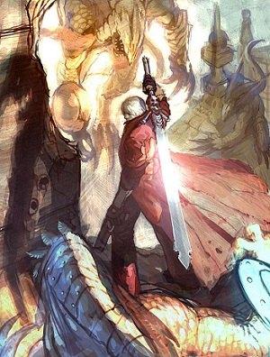 Dante DMC4 Concept Art