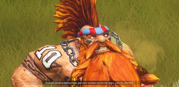 Blood Bowl 2 - downtouch