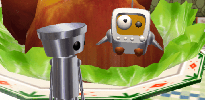 Chibi-Robo with Tely