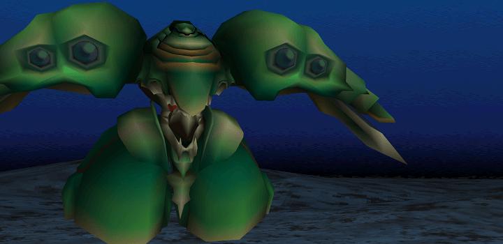 Emerald weapon FF7