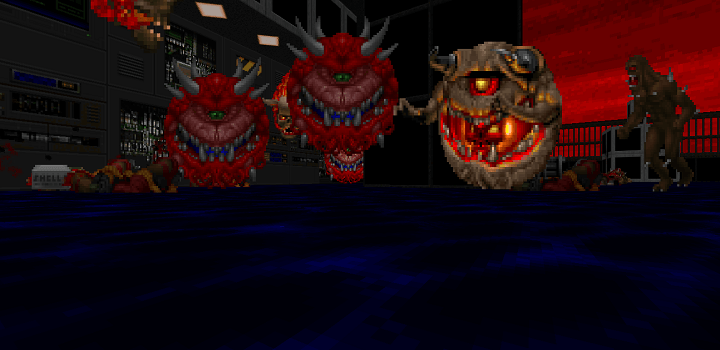 Plutonia Doom screenshot