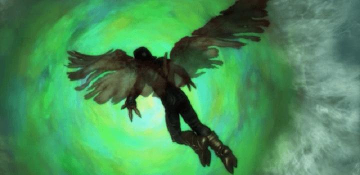 Legazy of Kain Raziel abism