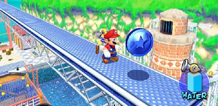 Mario Sunshine blue coin
