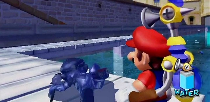 Mario Sunshine shadow mario