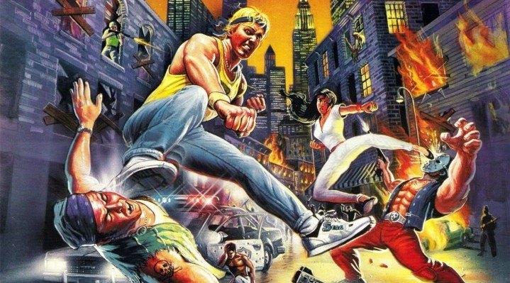 Streets of Rage - portada europea