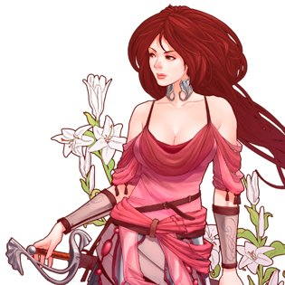 Character Girl - Abyss odyssey