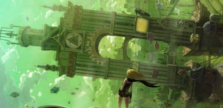 Gravity Rush Main Artwork - Keiichiro Toyama