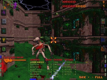 Uno de los niveles del System Shock