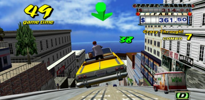 Crazy Taxi - Gameplay 2