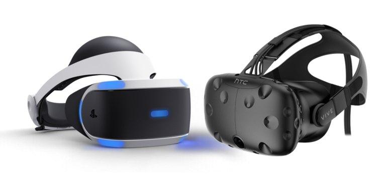 Htc vive vs PS VR