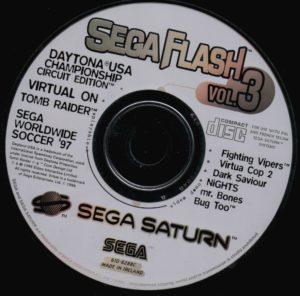 Sega Saturn - Sega Flash vol 3