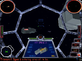 TIE Fighter DOS