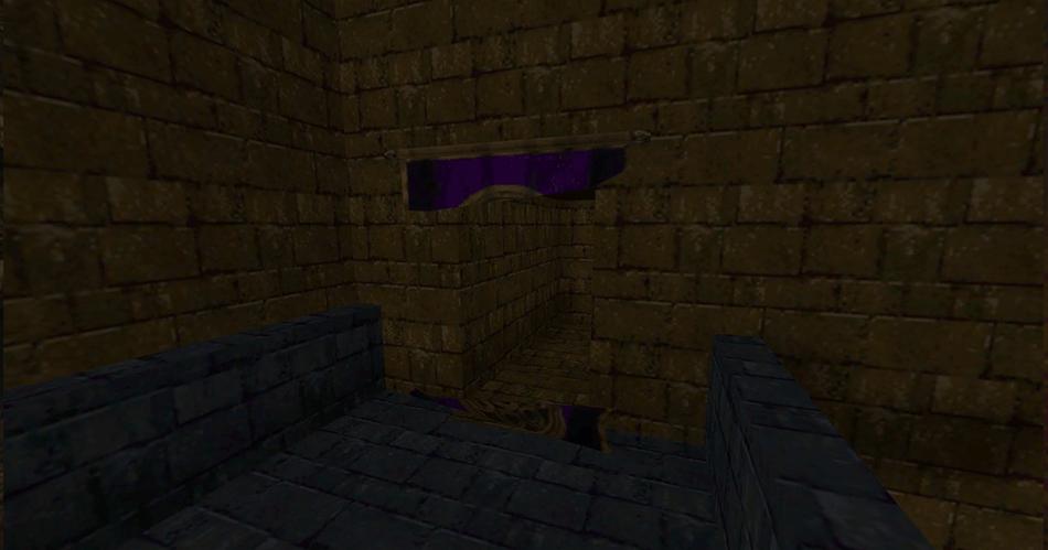 Un pasaje oculto tras un tapiz