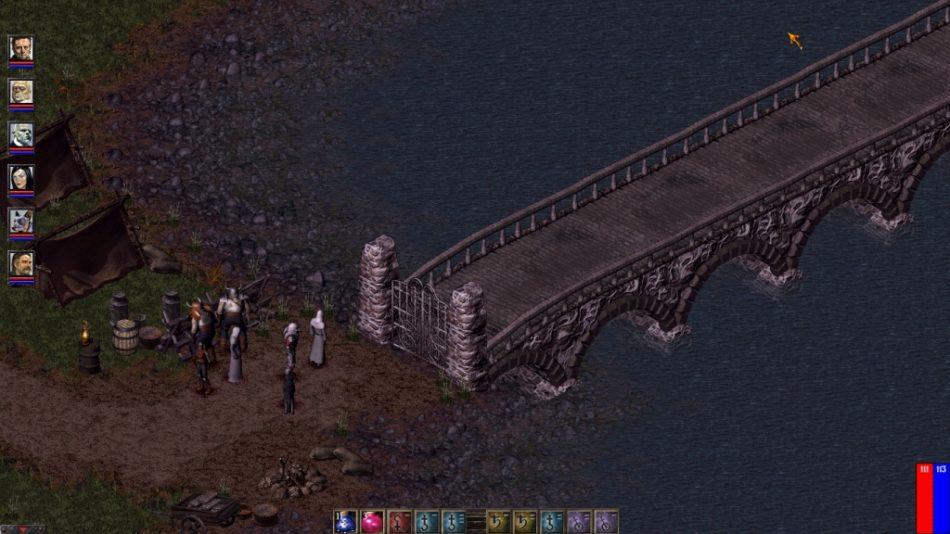 Shrouded Hills - puente de salida