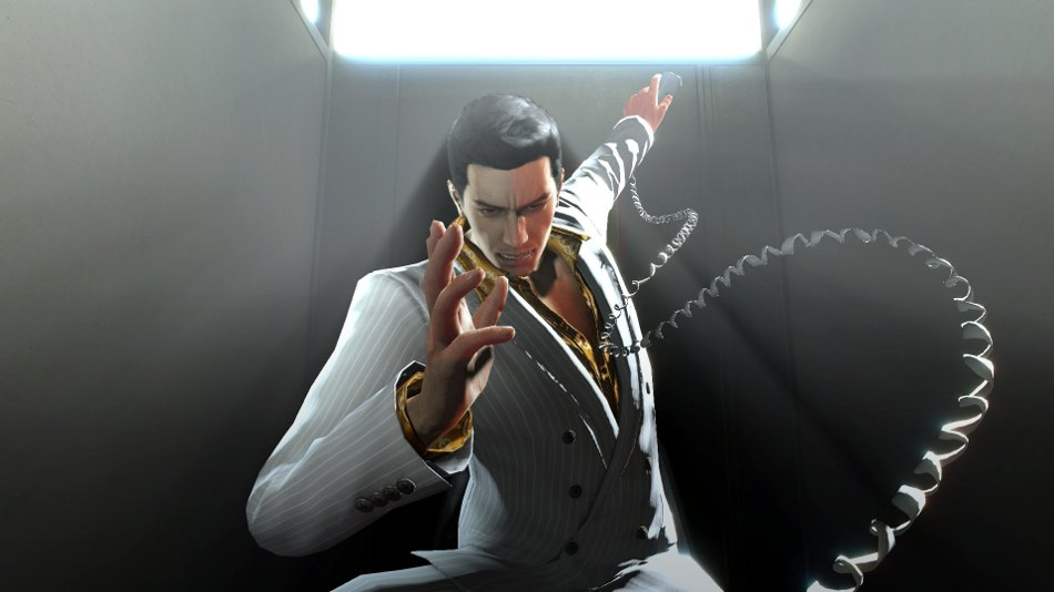 Yakuza 0 Kazuma Kiryu teléfono