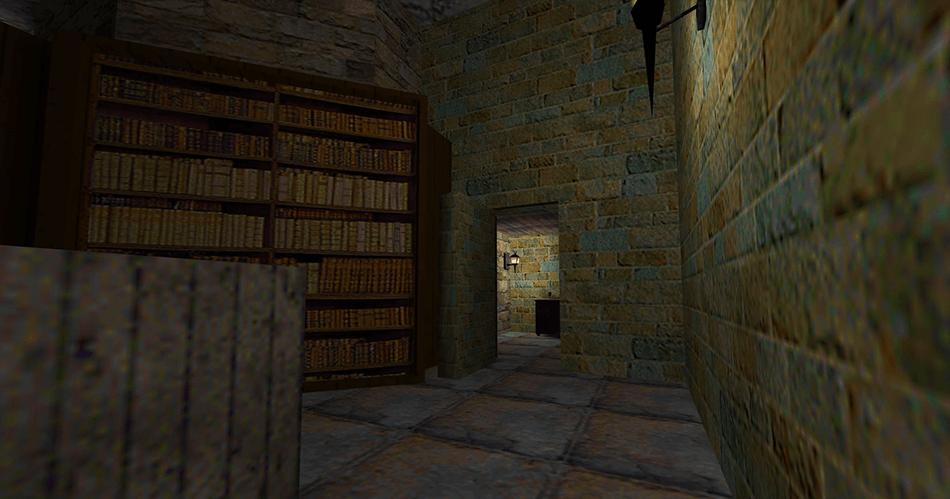 Una habitación oculta tras los muros de la biblioteca