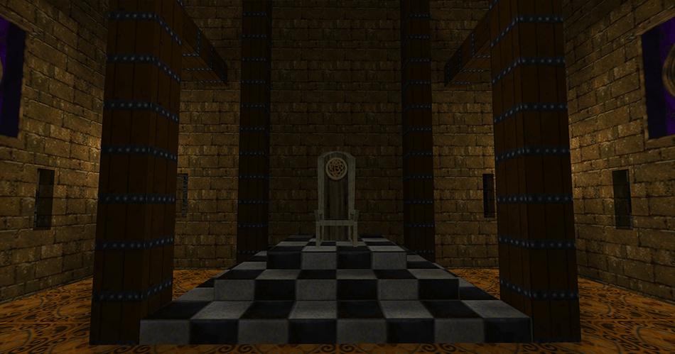 Un trono particular