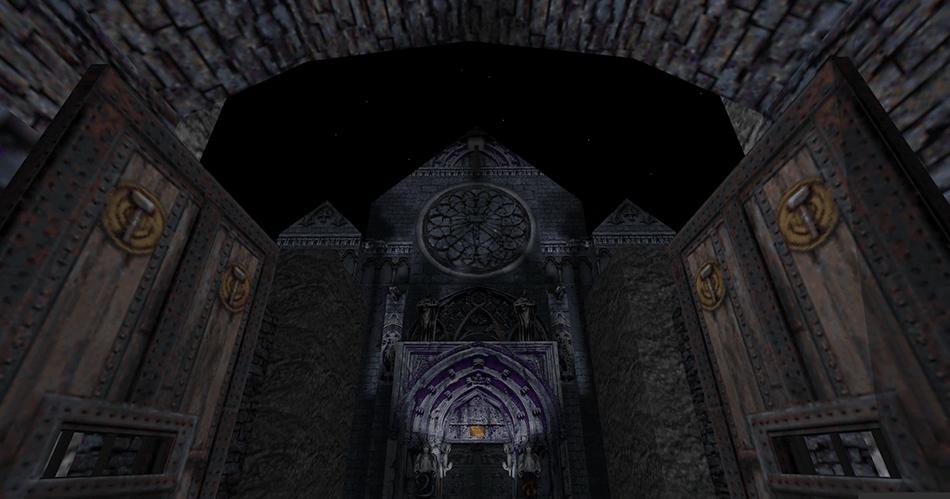 Una catedral entre los escombros del pasado
