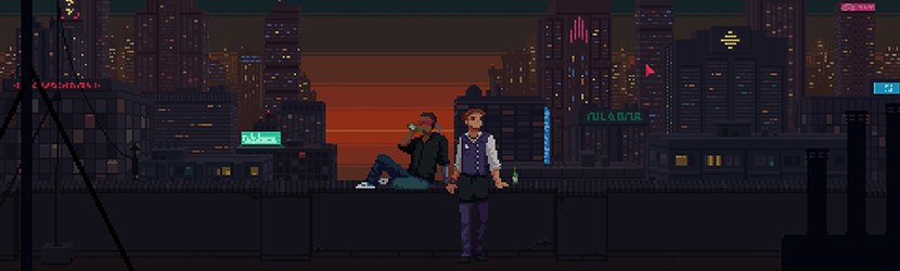 The Red Strings Club by Deconstructeam