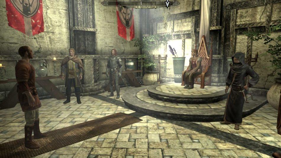 Salón del trono de la Jarl Elisif la Justa en Soledad