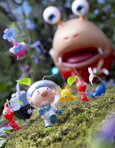 Pikmin 3 artwork