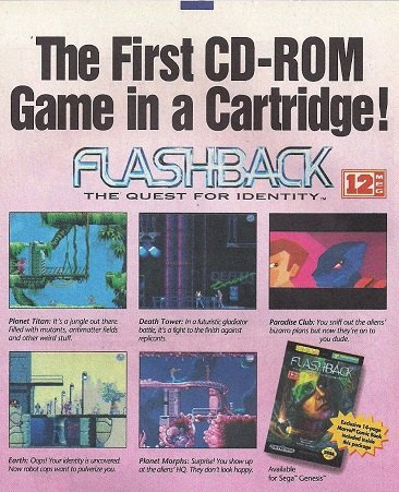 anuncio Flashback Genesis