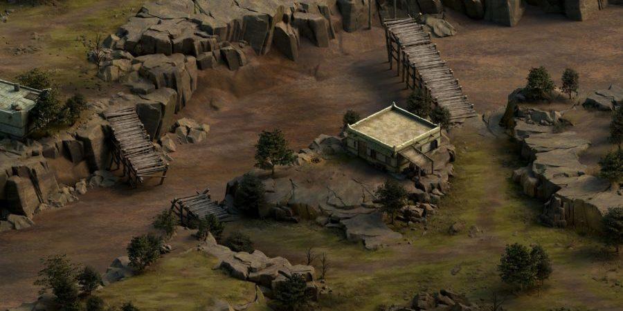 Una de las aldeas rebeldes de Pozo de Vendrien