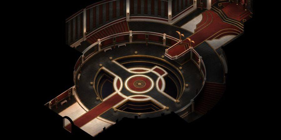 El salón de audiencias de Tunon