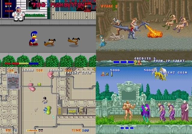 Juegos SEGA System 16
