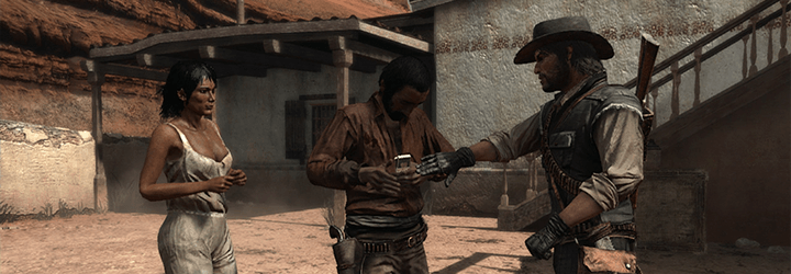 Red Dead Redemption Eva in peril