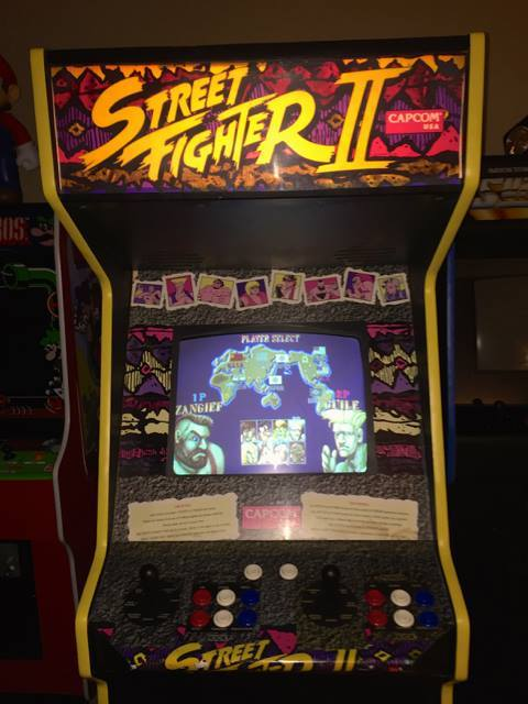 Mueble Street Fighter II