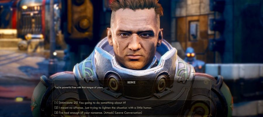 The Outer Worlds 01 - una conversación con Berke